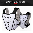 Men's Motorcycle Body Armor Vest Jacket Back Chest Protection Riding Gear