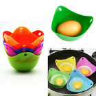 2/4pcs Silicone Egg Poacher Breakfast Cup Pods Mould Kitchen Cookare Poached Pan