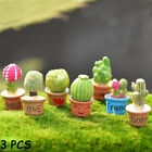 Decor Resin Plants  Cactus Bonsai Flower Miniature Succulent Potted Figurines