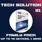 Bitdefender Family Pack 2019 Unlimited Devices, 1, 2, 3, 4 & 5 Years + Free Gift