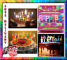 Cake Happy Birthday Candles x13 Birthday Party Candels 18th 21st 30th 50th 100th