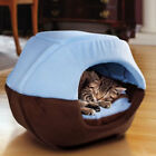 Winter Cat Dog Bed House Foldable Soft Warm Animal Puppy Cave Sleeping Mat Bed