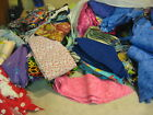 FABRIC SCRAPS bulk for Crafting Sewing Quilting BOW MAKING any craft .99/lb