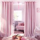 1PCS Soft And Cmfortable High Opacity Cloth Curtains Apply To Bedroom Adornment