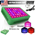 Dimmable 300W 600W LED Grow Light Full Spectrum With UV&IR For Greenhouse Plants