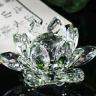 Купить Hot Lotus Crystal Collection Glass Figure Paperweight Ornament Feng Shui Decor