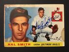 Hal Smith Orioles Signed 1955 Topps Badeball Card #8 Auto Autograph
