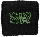 Marilyn Manson Logo Wristband Sweatband Official Gothic Metal Rock Band Merch