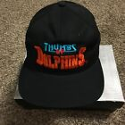 Vintage 90s NFL Football Miami Doplhins Thumbs Up Snap Back Hat