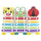 Colorful Animal Model Xylophone Musical Wisdom Development for Kids Toys Shan