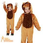 Kids Lion Costume Jungle Book Week Day Boys Girls Toddler Fancy Dress Outfit