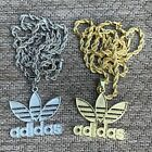 Adidas Pendant With Chain Silver/Gold image