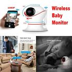 Wireless Baby Monitor with Camera Audio Phone App for Iphone WiFi Night Vision