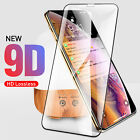 for iPhone XS XR 6s 7 9D Screen Protector Tempered Glass Protective Full Curved
