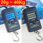 40Kg Digital Fishing Hanging Weight Electronic LCD Luggage Scale Pocket Scale