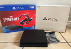 Sony PlayStation 4 Slim 1TB PS4 Jet Black 4 CUH-2215B HDR 4K