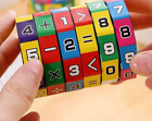 Slide puzzles Mathematics Numbers Magic Cube Toy Children Kids Learning Game