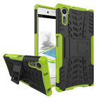 For Sony Xperia XZ3 XZ2 XZ1 XA2 XA1 Case Shockproof PC Armor Stand Rugged  Cover