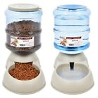 Pet Dog Puppy Cat Automatic Water Dispenser Food Dish Bowl Feeder 3.8L Hot Sale