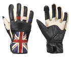 Triumph Motorcycles Men's Leather Union Jack Flag Gloves $80.95 USD on eBay