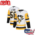 New Kris Letang Jersey #58 NHL Hockey Pittsburgh Penguin Stitched Men Size 2019