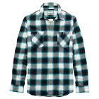 Timberland Men's Long Sleeve Midweight Flannel Button Down Shirt A1MNI Size S