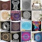 Mandala Tapestry Indian Wall Hanging 100%Cotton Hippie Bedspread Throw Bohemian