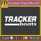 TRACKER BOATS marine boat fishing window car truck laptop Decals Graphics 12""