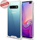 GOOSPERY Shockproof Hybrid Liquid Clear Hard Case Cover for Galaxy S10+/Note10 +