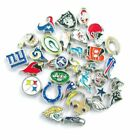 Buy 3, Get 2!  PRO FOOTBALL TEAM Floating Charms for Glass Memory Locket NFL $1.5 USD on eBay