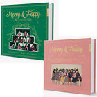 TWICE MERRY HAPPY Repackage Album CD Photo Book 4p Card Sticker GIFT SEALED
