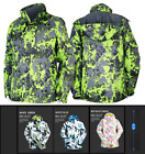 New Mens Ski Snowboard Padded Quilted Jacket Hooded Coats Parka Skiing Clothing