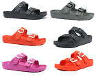 Kyпить New Women's Double Strap Buckle Slide Soft Footbed Sandal Beach Shower Pool-8750 на еВаy.соm