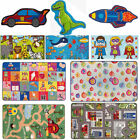 Kid Playroom  Non Slip Children Girls Boys Machine Washable New Bambino Rug Mat