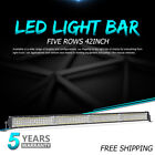 "CREE 42"" INCH 4352W LED Light Bar Driving Offroad Spot Flood 4WD SUV Boat PK 18W"