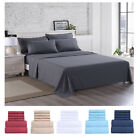 3000 Count Microfiber Bed Sheet Set 6 Pieces Deep Pocket Hypoallergenic Bedding  image