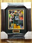 """Framed Picture of """"Green Bay Packer"""" Clay Matthews"""