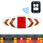 USB Charging 2x T6 LED Bicycle Headlight Front Lamp Remote Control Signal Light