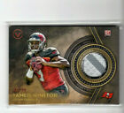2015 Topps Valor Jameis Winston 2-color Jersey ROOKIE CARD #43/99 Buccaneers QB!