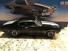 FRANKILN MINT 1970 CHEVELLE BLACK ON BLACK WITH ALL BOXES AND PAPERWOK RARE ONE