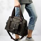 New Fashion Men Cross Body Waterproof Nylon Shoulder Messenger Laptop Travel Spo