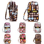 Multi-color Small Cross Body Purse for Womens Shoulder Zip Bag Girls Cell Phone
