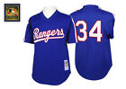 Nolan Ryan 1989 Texas Rangers Authentic Mesh BP Jersey by Mitchell