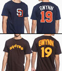Tony Gwynn San Diego Padres #19 MLB Jersey Style Men's Graphic T Shirt on Ebay