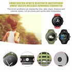Bluetooth Waterproof IP68 Smart Watch Heart Rate Pedometer For IOS Android WW