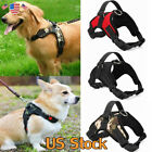 US Soft Vest Dog Puppy Pet Harness Chest Tank Collar Lead Leash Adjustable Strap