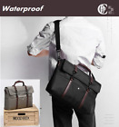 Waterproof Satchel Messenger Handbag Laptop Notebook Bag Case Shoulder Travel