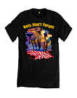 Vets Don't Forget, American War Helmets T-Shirt, Choice Of T-Shirts Color