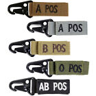 Внешний вид - Condor 239 Tactical Metal Hook and Loop A/B/AB/O Positive/Negative Key Chain