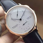 Men's Sport Watch Genuine Leather Strap Automatic Wrist Watch Mechanical Watches